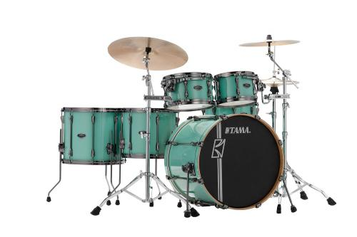 ML52HLZBNS-SFG. Superstar Hyperdrive Custom Maple 5-del shell-kit, Sea Foam Green