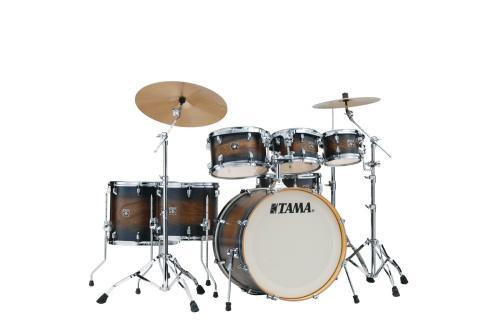 Tama Superstar Classic MA 7-del Shell-kit, Matte Midnight Elm Burst