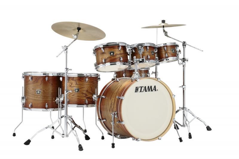 Tama Superstar Classic MA 7-del Shell-kit, Matte Auburn Elm Burst
