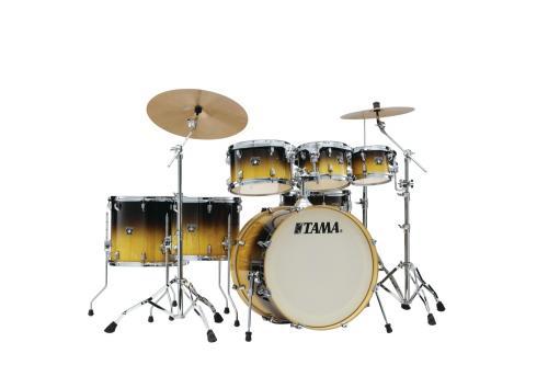 Tama Superstar Classic MA 7-del Shell-kit, GlossLacebark Pine Fade