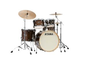 Trumset Superstar Classic CL52KRSP-GJP, lackerade lönnstommar i Gloss Java Lacebark Pine finish
