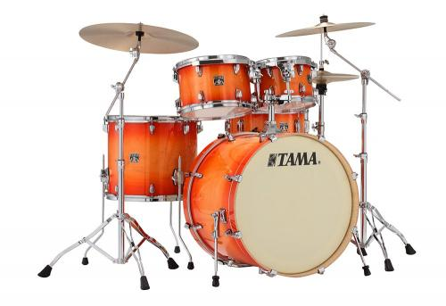 Tama Superstar Classic CL52KRS-TLB, Tangerine Lacquer Burst finish