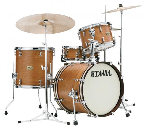 Tama S.L.P. Drumkit New-Vintage Hickory - LHK38CS-SVH, lackerad i Satin Vintage Hickory