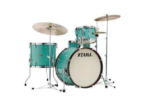 Tama S.L.P. Drumkit Fat Spruce - LSP32CS-TUQ, lackerad i Turquoise