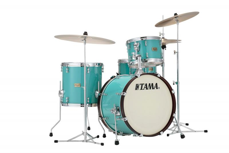 Tama S.L.P. Drumkit Fat Spruce - LSP30CS-TUQ, lackerad i Turquoise