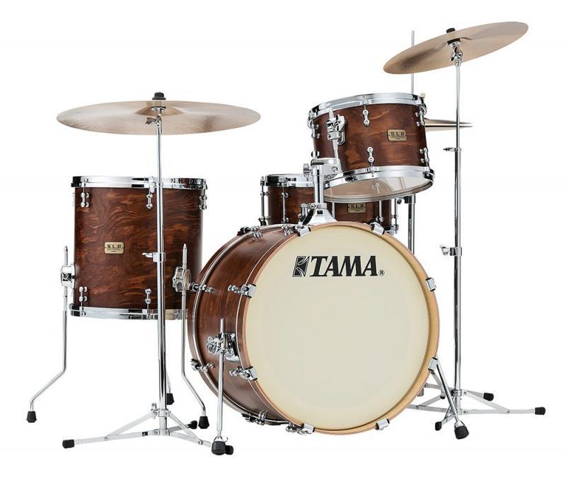 Tama S.L.P. Drumkit Fat Spruce, Satin Wild Spruce