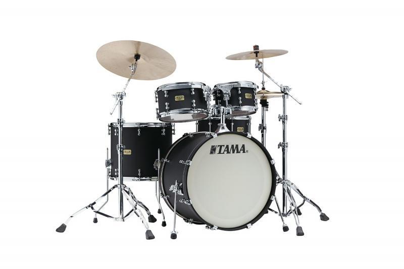 Tama S.L.P. Drumkit Dynamic Kapur - LKP42HTS-FBK, lackerat i Flat Black finish