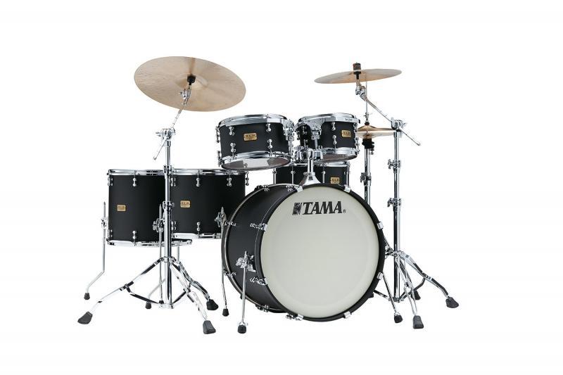 Tama S.L.P. Drumkit Dynamic Kapur - LKP52HTS-FBK, lackerat i Flat Black finish