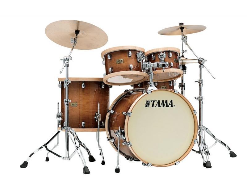 Tama S.L.P. Drumkit Studio Maple, Gloss Sienna finish