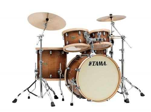 Tama S.L.P. Drumkit Studio Maple, Gloss Sienna finish