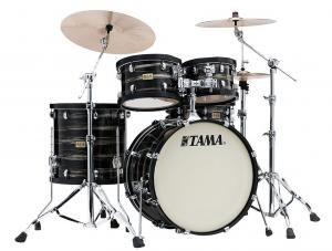 Tama S.L.P. Drumkit Studio Maple Limited, Lacquered Charcoal Oyster finish