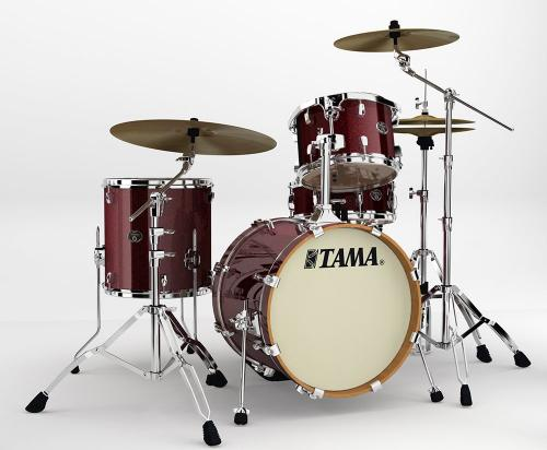 Tama Silverstar, Dark Red Sparkle finish