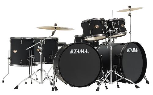 TAMA IMPERIALSTAR Ltd Double Bass, Blacked Out Black finish, Tama IP72H8N-BBOB
