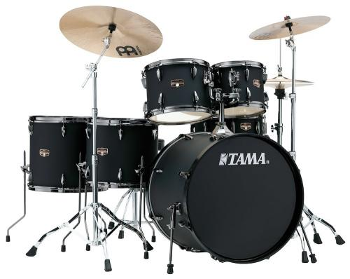 Imperialstar 6-del 22'' kompl. set m.cymb. Blacked Out Black