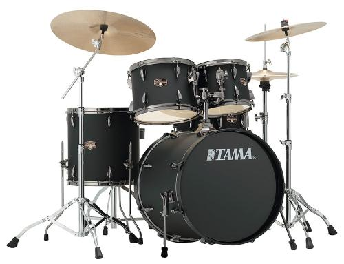 Imperialstar 5-del 20'' kompl. set m.cymb, Blacked Out Black