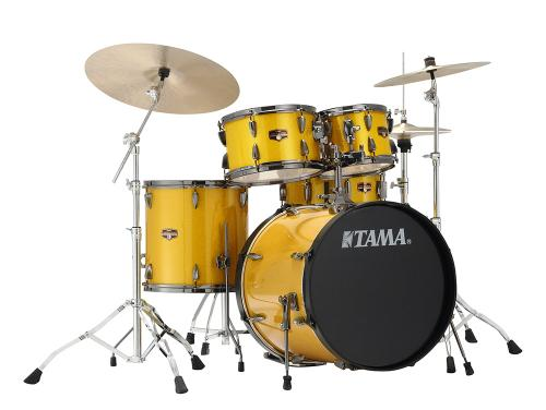 Imperialstar Hyper-Drive Limited, Gold Yellow Sparkle finish, Tama IP50BHH6NB-GYS