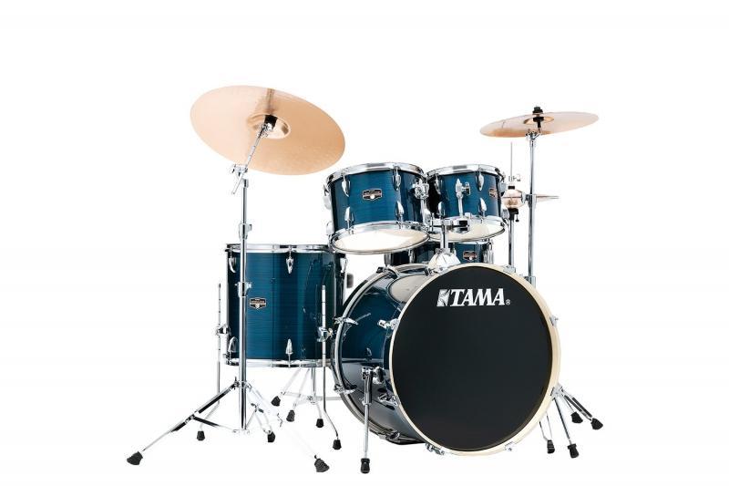 TAMA IMPERIALSTAR IE52KH6W-HLB, klädda i Hairline Blue finish