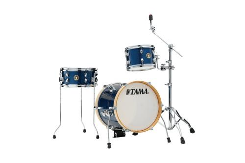 Tama Club Jam Suitcase Shell-pack, Indigo Sparkle