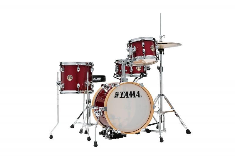 Tama Club JAM Kit-LJK44H4 - CPM, Klädd i Candy Apple Mist