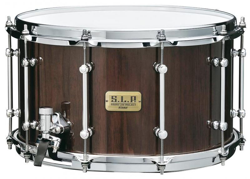 "Tama SLP G-Walnut 14x8"", Gloss Black Walnut, LGW148-GBW"