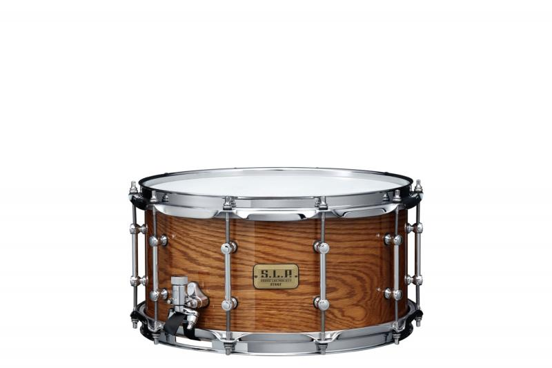 Tama Tama Virvel SLP G-Maple Ltd 14''x7'', Gloss Tawny Oak