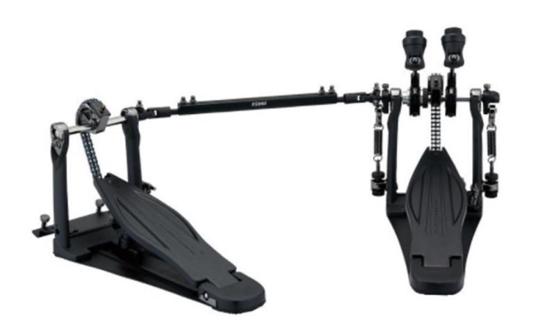 Tama Speed Cobra Twin Black Edition w/case, HP910LWNBK