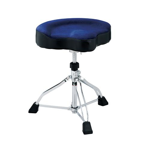 Tama trumstol Wide Rider Cloth seat, Dark Blue