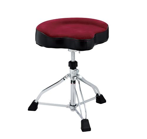 Tama trumstol Wide Rider Cloth seat, Dark Red