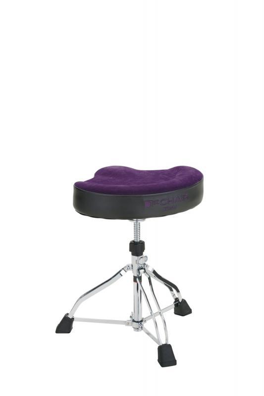 Tama Tama trumstol Glide Rider. Limited, Purple Cloth top