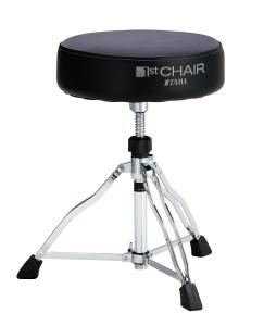 Tama 1st Chair Round Rider - HT430GYC. Gray Cloth top
