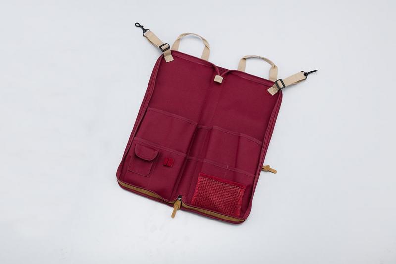 Powerpad Designer Collection Stick Bag, Wine Red, Tama