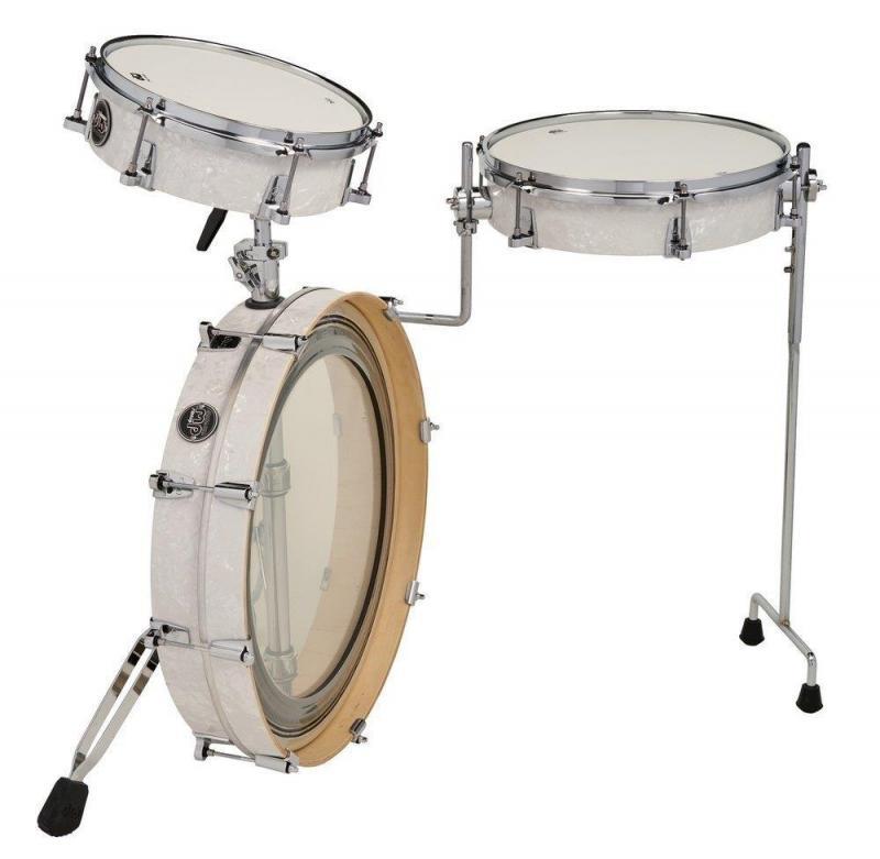 Drum Workshop Shell set Performance Low Pro Kit Black Diamond, DRKTPFC03RKBD
