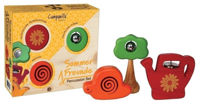 Percussion Set, Summer Friends, 3-Delars
