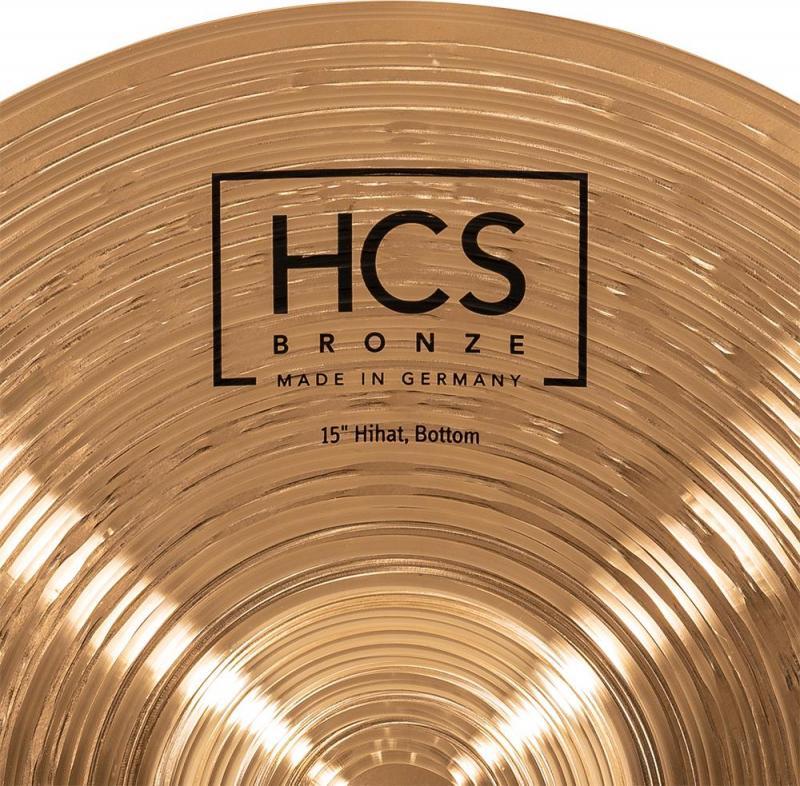 Meinl HCS Bronze Hi-hat 15'' - HCSB15H