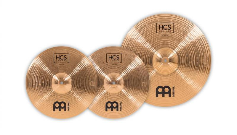 Meinl HCS Bronze Cymbalset - HCSB1418