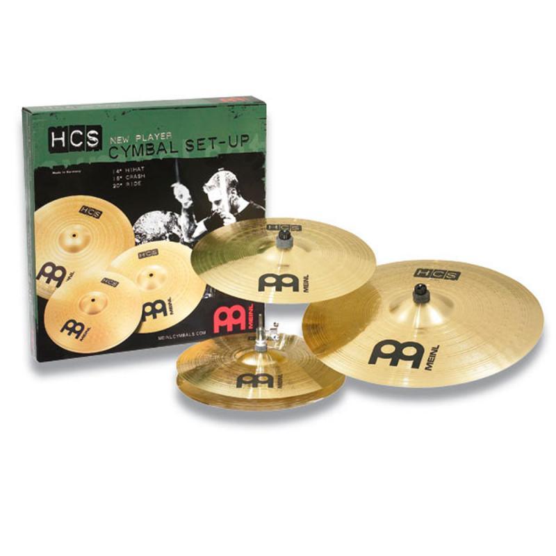 Cymbalpaket Meinl HCS 141620+10