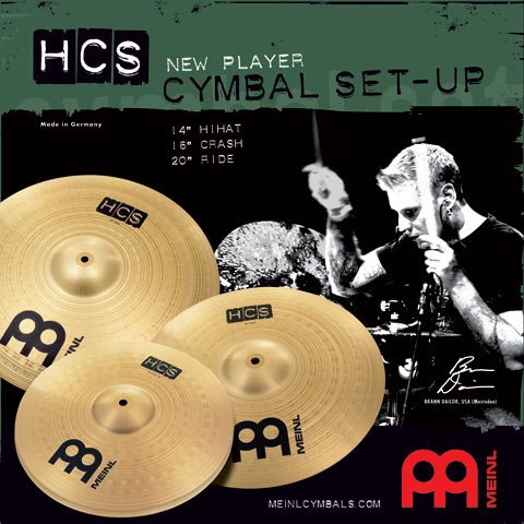 HCS Cymbal-set 14-16-20, Meinl