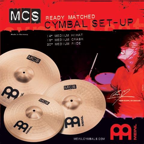 MCS Cymbal-set 14-16-20