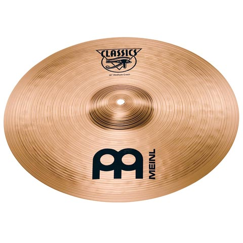 "16"" Classics  Medium Crash, Meinl"