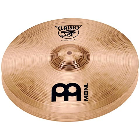 "14"" Classics  Medium Hi-hat, Meinl"