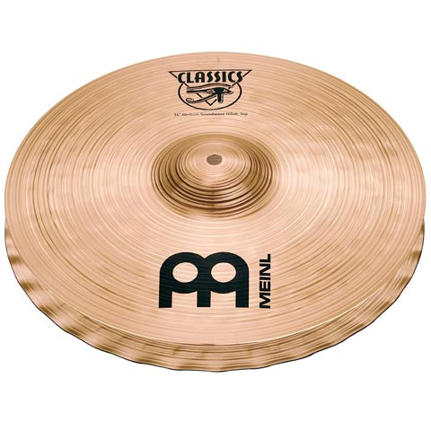 "14"" Classics  Medium Soundwave Hi-hat, Meinl"