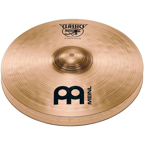 "14"" Classics  Powerful Hi-hat, Meinl"