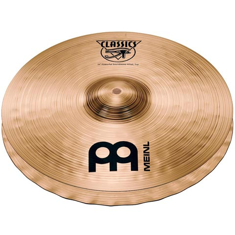 "14"" Classics  Powerful Soundwave Hi-hat, Meinl"