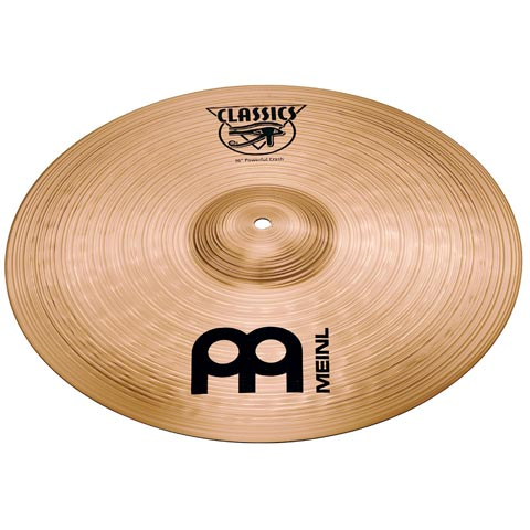 "16"" Classics  Powerful Crash, Meinl"