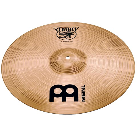 "17"" Classics  Powerful Crash, Meinl"