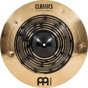 "Meinl 19"" Classics Custom Dual Crash, CC19DUC, CC19DUC"