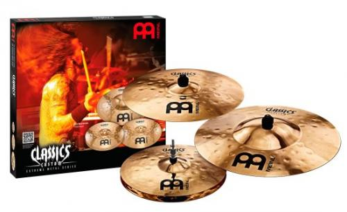 Classics Custom Extreme Metal Cymbal-set Extreme 14-18-20