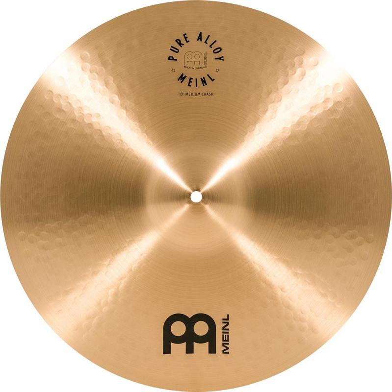 "Meinl Pure Alloy 19"" Medium Crash - PA19MC"