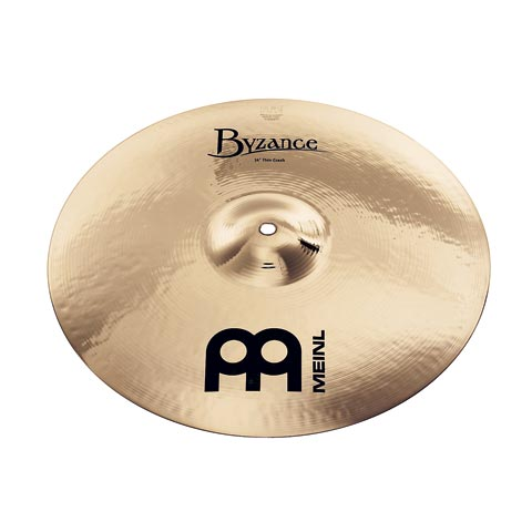 "17"" Byzance Brilliant  Medium Thin Crash, Meinl"