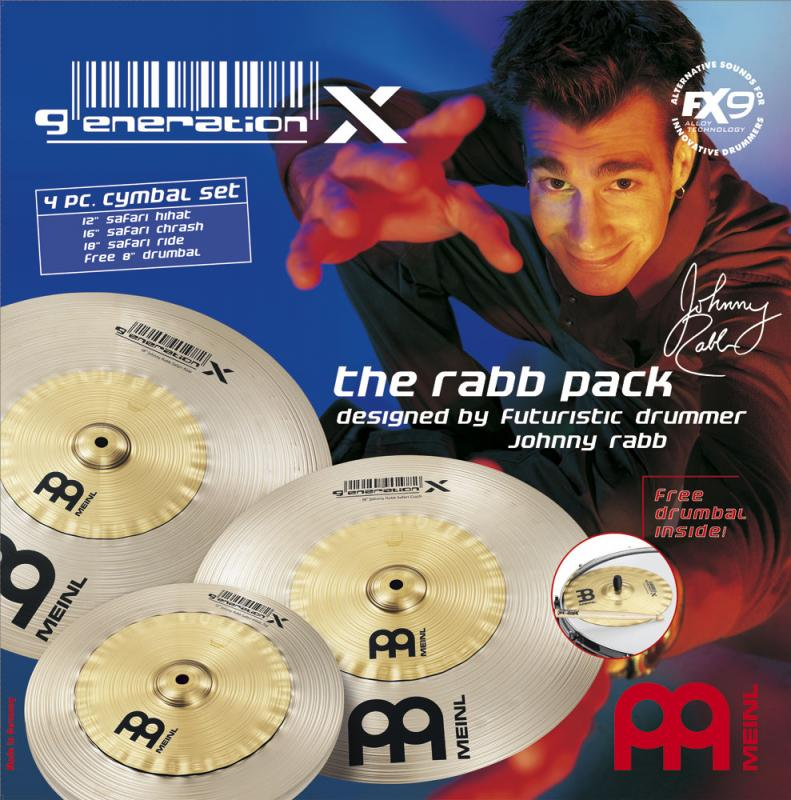 Rabb Pack 12/16/18+fri Drumbal, Meinl